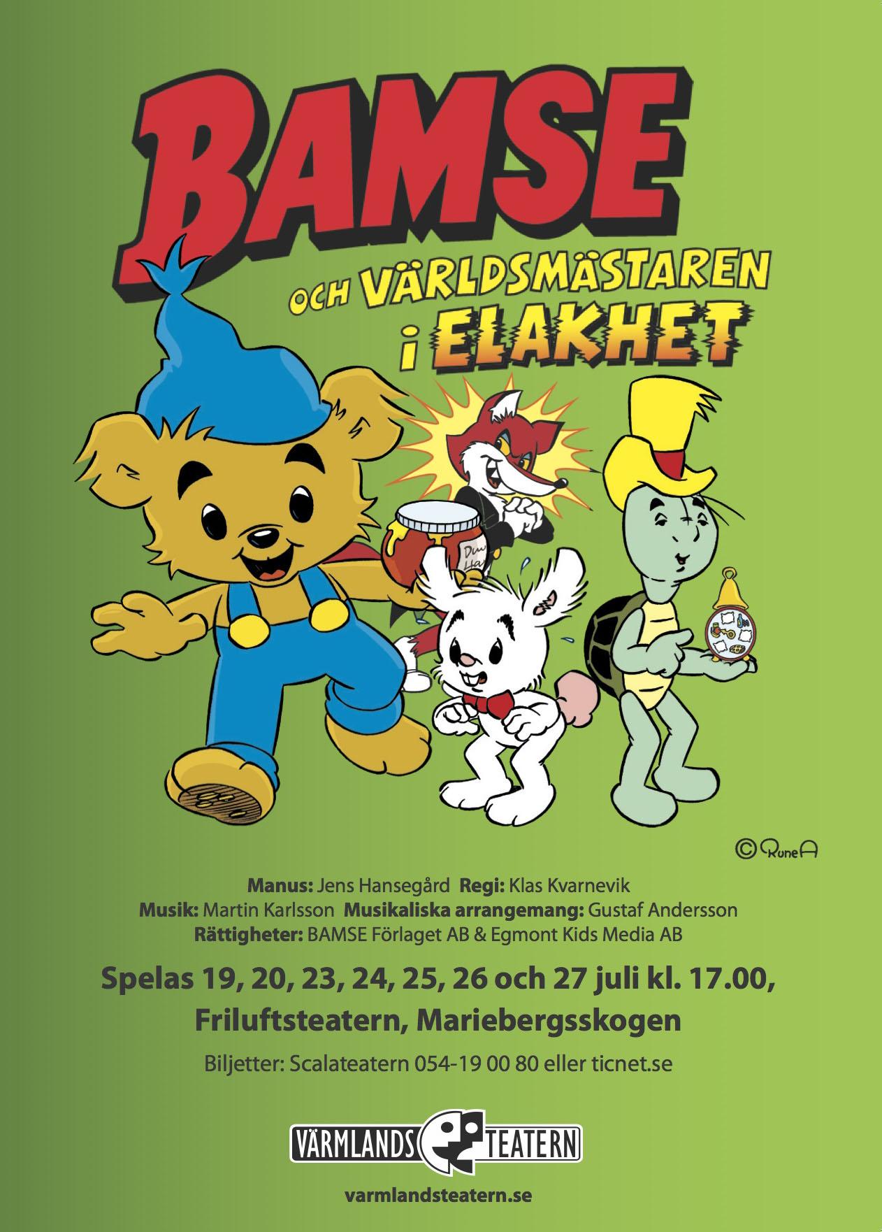 Bamse och Världsmästaren i Elakhet