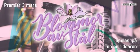 Biljettsläpp Blommor av stål