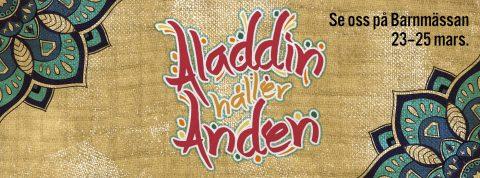 Aladdin på Friluftsteatern i sommar