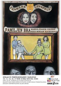 Familjen Bra – Teaterskolans examensuppsättning våren 2018