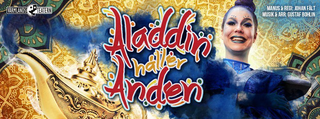 Biljettsläpp Aladdin – vårens enaktare på Tempelriddaren