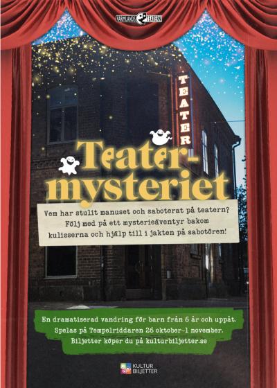 Teatermysteriet – SLUTSÅLD