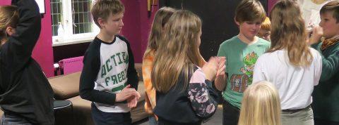 Sportlovsaktivitet för deltagare i ålder 9-13 år på Tempelriddaren.